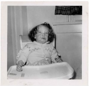 Interior Designer Karen Lievense as a child