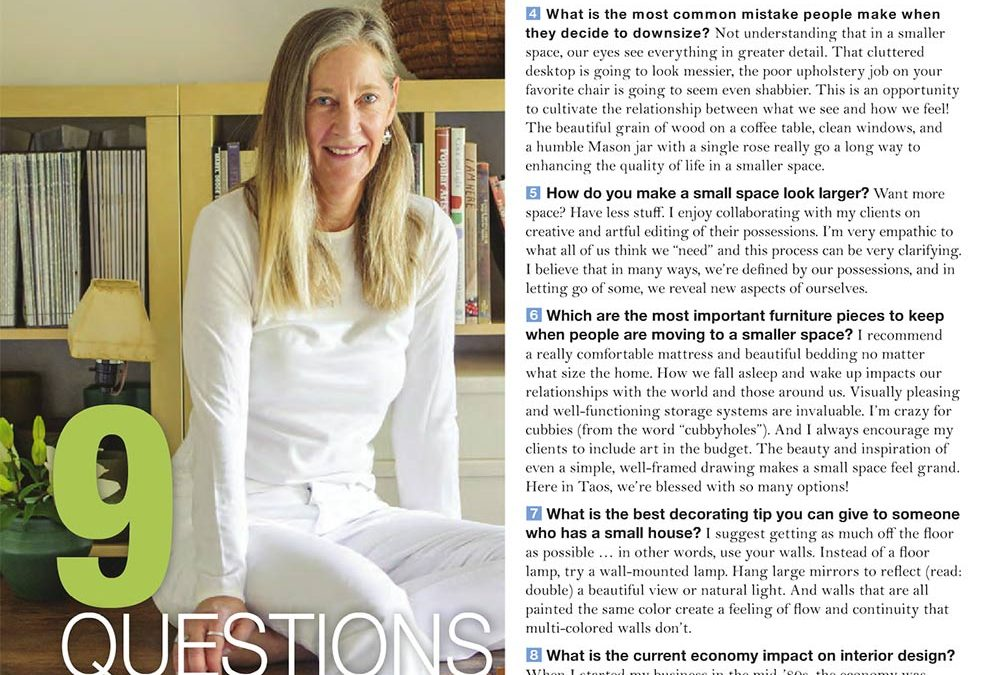 9 Questions for Interior Designer Karen Lievense